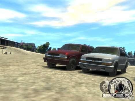 Chevrolet Blazer LS 2dr 4x4 para GTA 4 esquerda vista