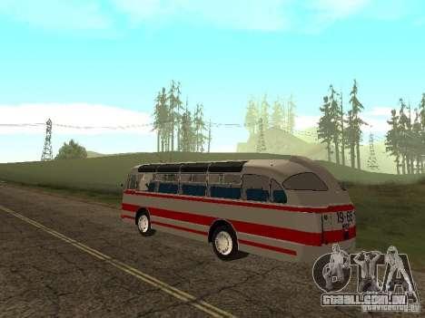LAZ 697E turística para GTA San Andreas esquerda vista