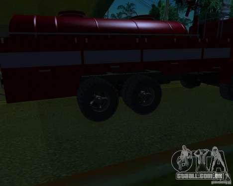 KAMAZ 53213 AP-5 para GTA San Andreas vista direita