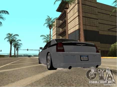 Chrysler 300 C para GTA San Andreas esquerda vista