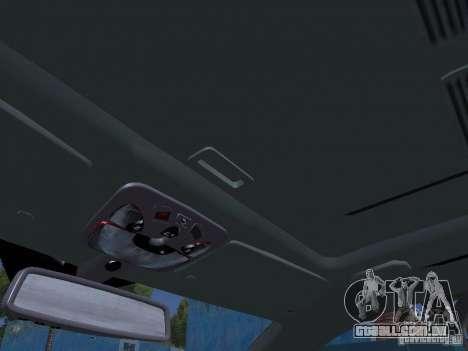Mercedes-Benz CLK55 AMG para GTA San Andreas interior