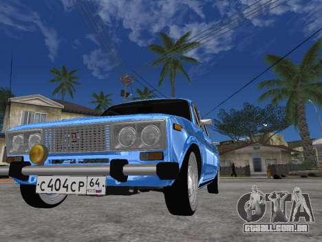 VAZ 2106 retrô V2 para GTA San Andreas
