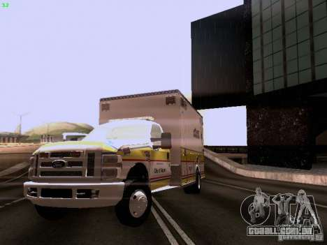 Ford F-350 Ambulance para GTA San Andreas