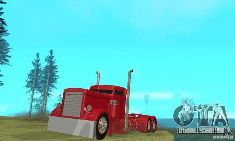 Peterbilt Coupe para GTA San Andreas
