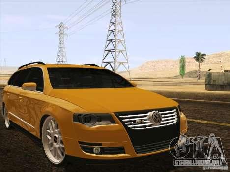 Volkswagen Passat B6 Variant para o motor de GTA San Andreas