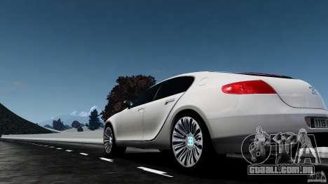 Bugatti Galibier 2009 para GTA 4 traseira esquerda vista