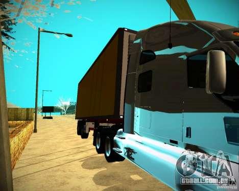 O reboque Krone Biedra para GTA San Andreas traseira esquerda vista
