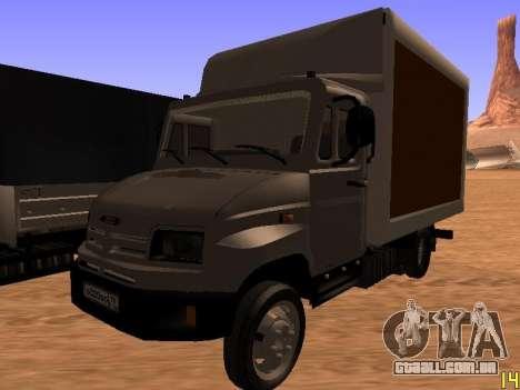 ZIL 5301 Goby para vista lateral GTA San Andreas