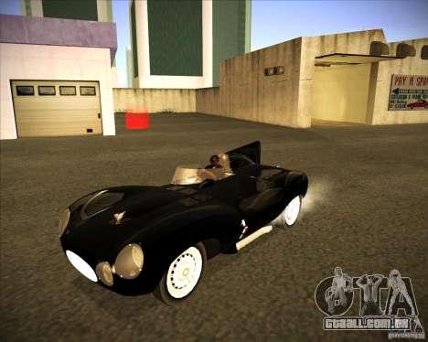 Jaguar D type 1956 para GTA San Andreas