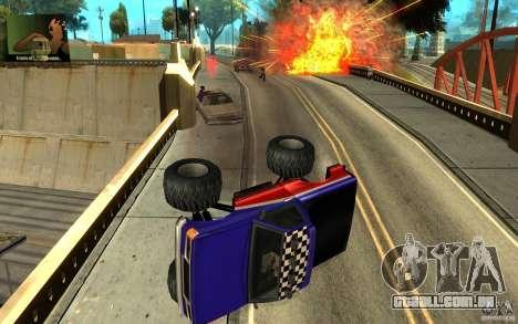 Ballas para GTA San Andreas por diante tela