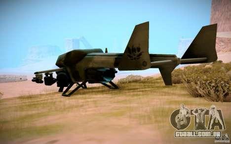 Type 4 Doragon para GTA San Andreas esquerda vista
