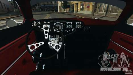 Walter Street Rod Custom Coupe para GTA 4 vista de volta