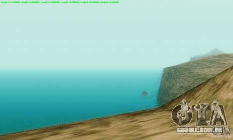 Marty McFly ENB 2.0 California Sun para GTA San Andreas terceira tela