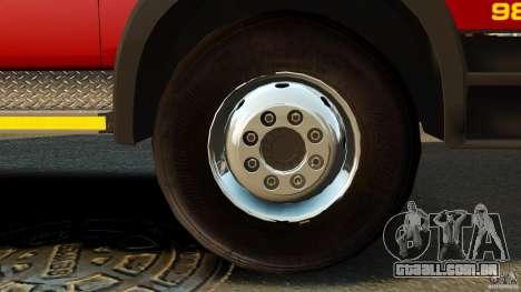 Mercedes-Benz Atego NMBMM [ELS] para GTA 4 vista de volta
