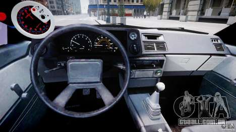 Toyota AE86 TRUENO Initial D para GTA 4 vista direita