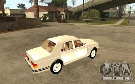 Bentley Turbo RT para GTA San Andreas vista direita