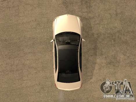 Mercedes-Bens e63 AMG para GTA San Andreas vista direita