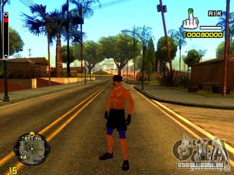 Pessoas da praia para GTA San Andreas segunda tela