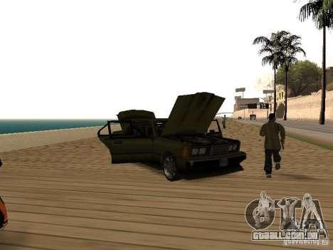 Sentinel XS para GTA San Andreas vista traseira