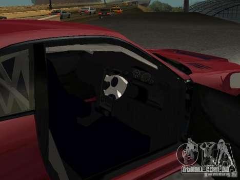 Nissan Skyline GT-R BCNR 33 para GTA San Andreas vista traseira