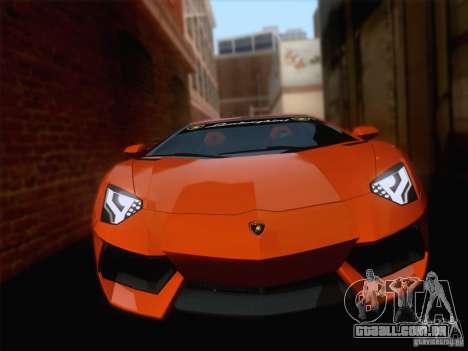 Realistic Graphics HD 5.0 Final para GTA San Andreas por diante tela