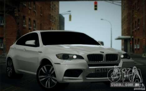 BMW X6M E71 para vista lateral GTA San Andreas