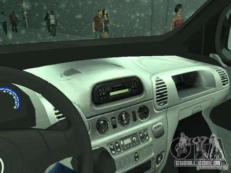 Vauxhall Vivaro v0.1 para vista lateral GTA San Andreas