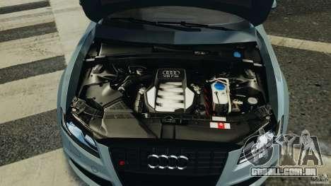 Audi S5 v1.0 para GTA 4 vista inferior