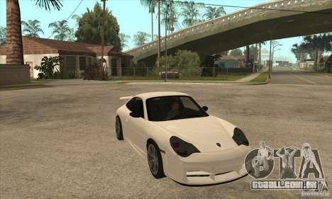 Porsche 911 GT3 (996) para GTA San Andreas vista traseira