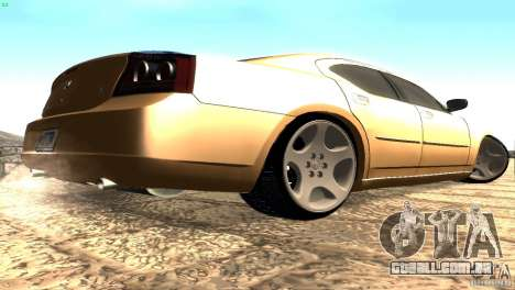 Dodge Charger SRT8 Re-Upload para GTA San Andreas vista direita