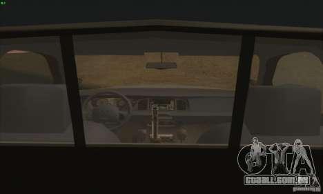 Ford Crown Victoria Colorado Police para GTA San Andreas traseira esquerda vista