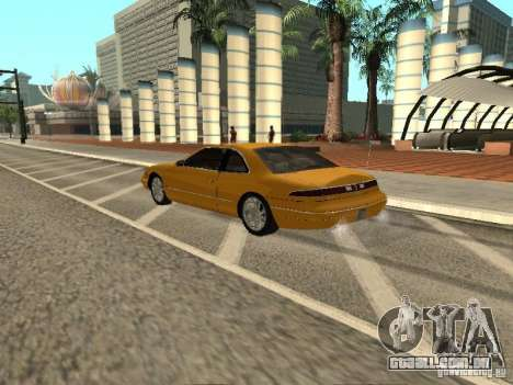 Lincoln Mark VIII 1996 para GTA San Andreas esquerda vista