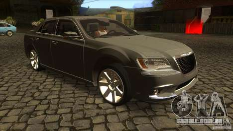Chrysler 300 SRT-8 2011 V1.0 para GTA San Andreas vista traseira