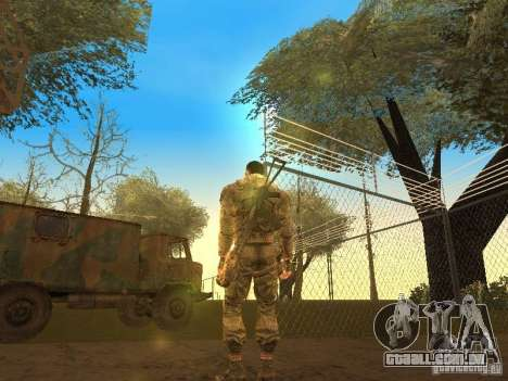 Degtyarev de Stalker para GTA San Andreas segunda tela