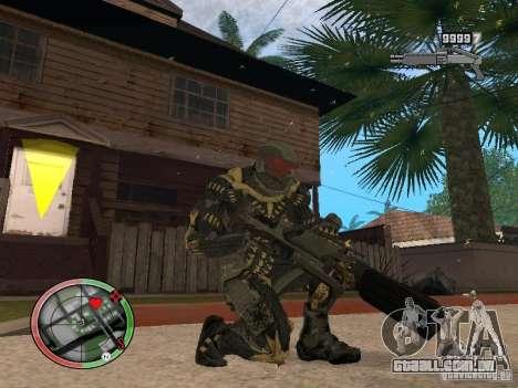 Coleção de armas de Crysis 2 para GTA San Andreas sexta tela