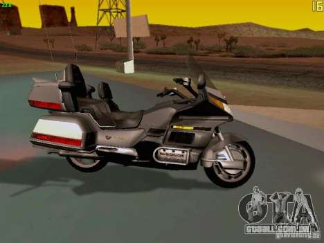 Honda Goldwing GL 1990 1500 g. para GTA San Andreas