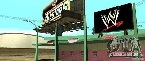 Nova loja da WWE para GTA San Andreas por diante tela
