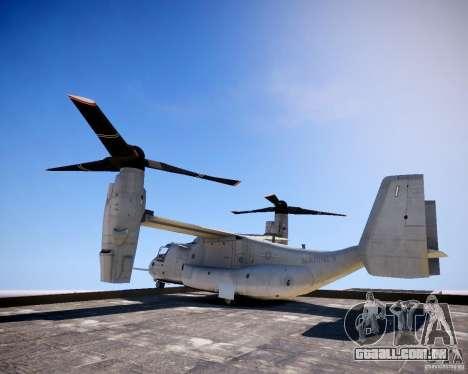 Osprey MV-22 para GTA 4 esquerda vista