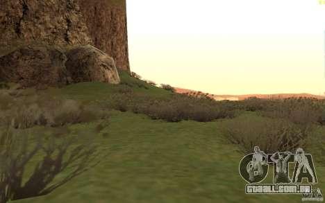 New desert para GTA San Andreas sexta tela