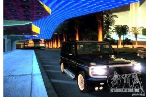 Graphic settings para GTA San Andreas sexta tela