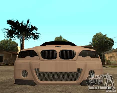 BMW M3 CSL E46 G-Power para GTA San Andreas vista direita