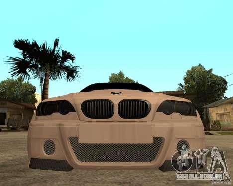 BMW M3 CSL E46 G-Power para GTA San Andreas vista direita
