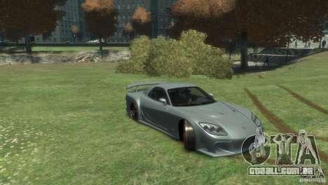 Mazda RX-7 FD3S Veilside Fortune v1.1 para GTA 4 vista direita