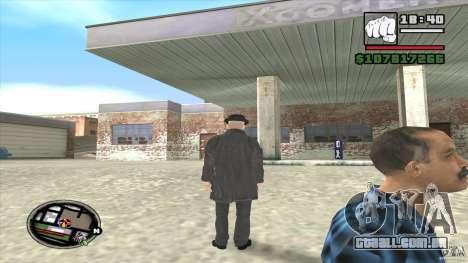 Assassino em série para GTA San Andreas por diante tela