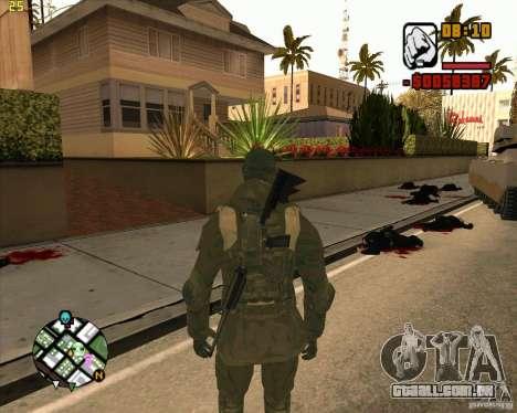 Ckin SAS para GTA San Andreas segunda tela