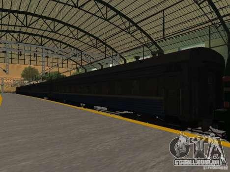 Modificação da estrada de ferro III para GTA San Andreas décima primeira imagem de tela