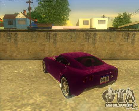 Melling Hellcat para GTA San Andreas vista direita