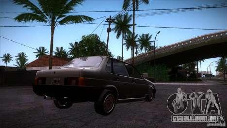 Fiat Regata para GTA San Andreas vista direita