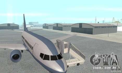 Airport Vehicle para GTA San Andreas terceira tela