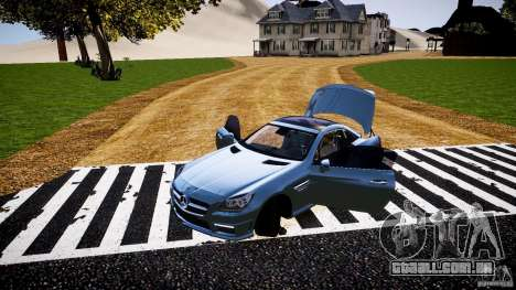 Mercedes-Benz SLK 2012 para GTA 4 vista superior